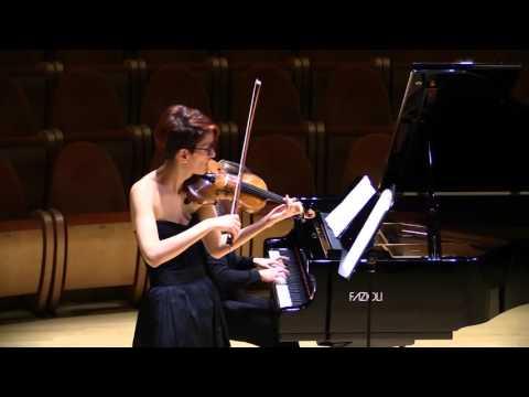 Caterina Demetz - Federica Bortoluzzi - W.A.Mozart Sonata K379 in sol maggiore - Andantino cantabile