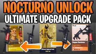 How To Get The Nocturno Schematic 2019 - What Do You Get From The Ultimate Upgrade Pack Fortnite STW