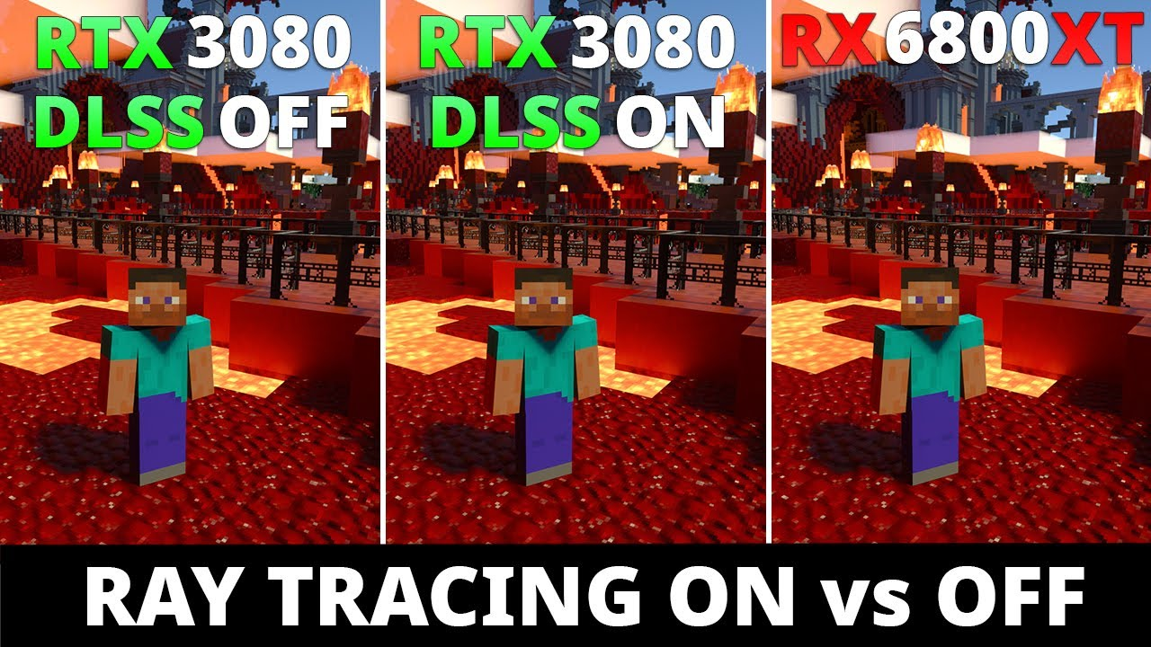 Download RTX 3080 vs RX 6800 XT - Ray Tracing ON vs OFF and DLSS 2.0 Performance Comparison 1080p 1440p 4k
