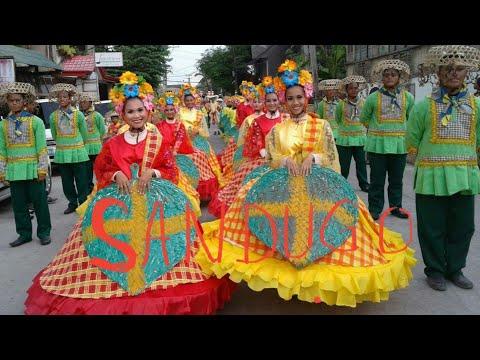 """Street Dancing """"Kuradang"""" in Bohol's Sandugo 2016"""