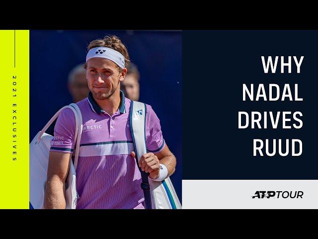 How Rafa Nadal Has Influenced Casper Ruud