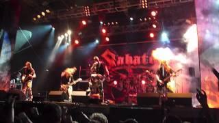Sabaton - The Art of War @ Metal Fest 2011 - Pratteln - Switzerland