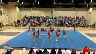 Briarwood Academy (Warrenton, GA) 2012 GISA AA State Champion Cheer Routine