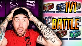 Crate Battle with 2 of EVERY CRATE EVER in Rocket League!