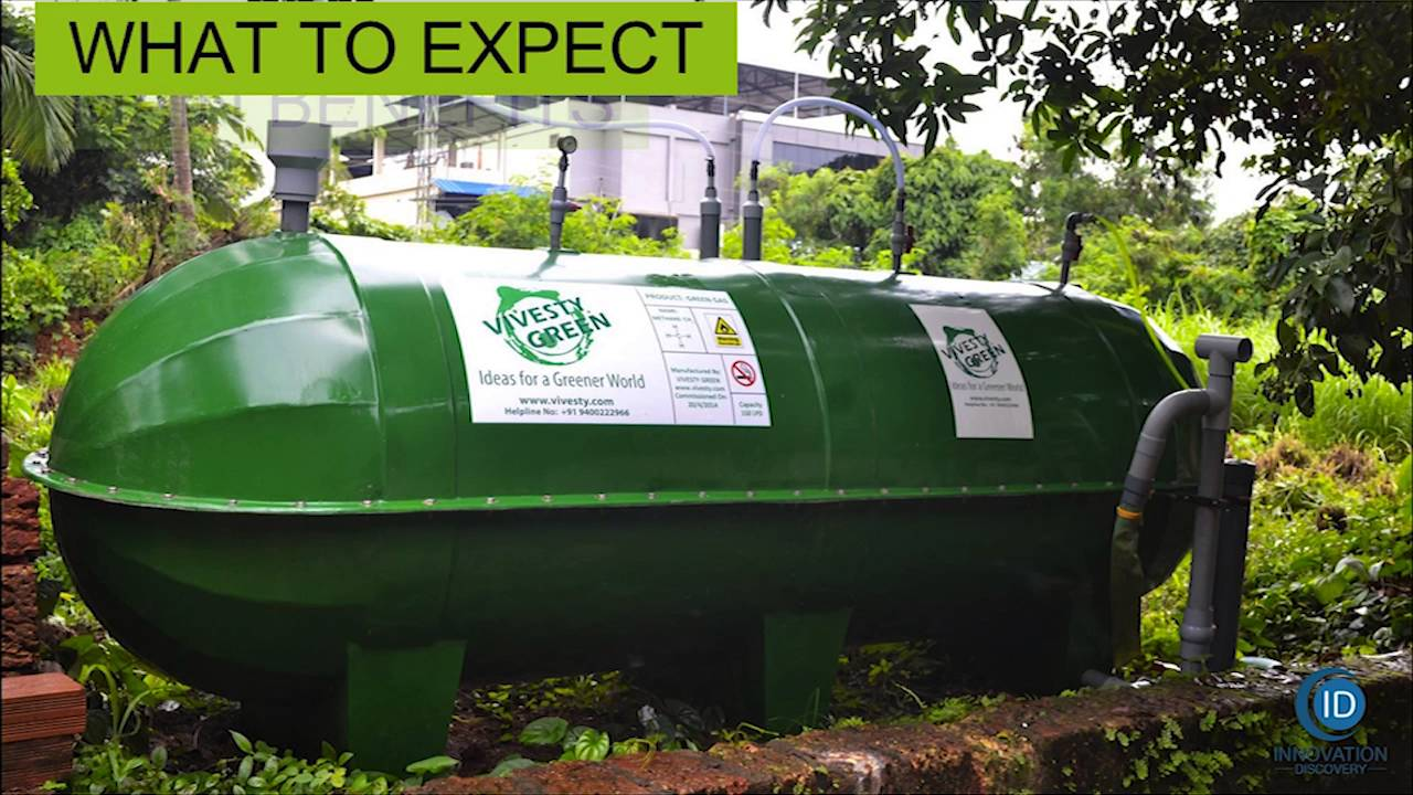 how to produce biogas at home