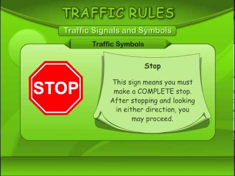 Essay about traffic signals