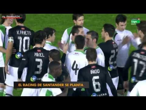 Racing Santander 0 : 3 Real Sociedad