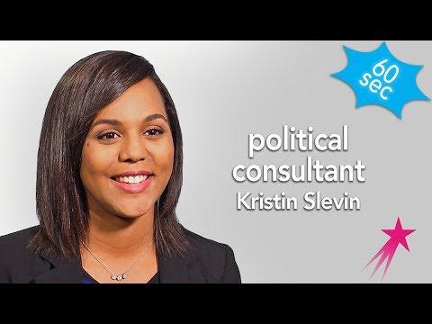 Political Consultant   Kristin Slevin   60 Seconds