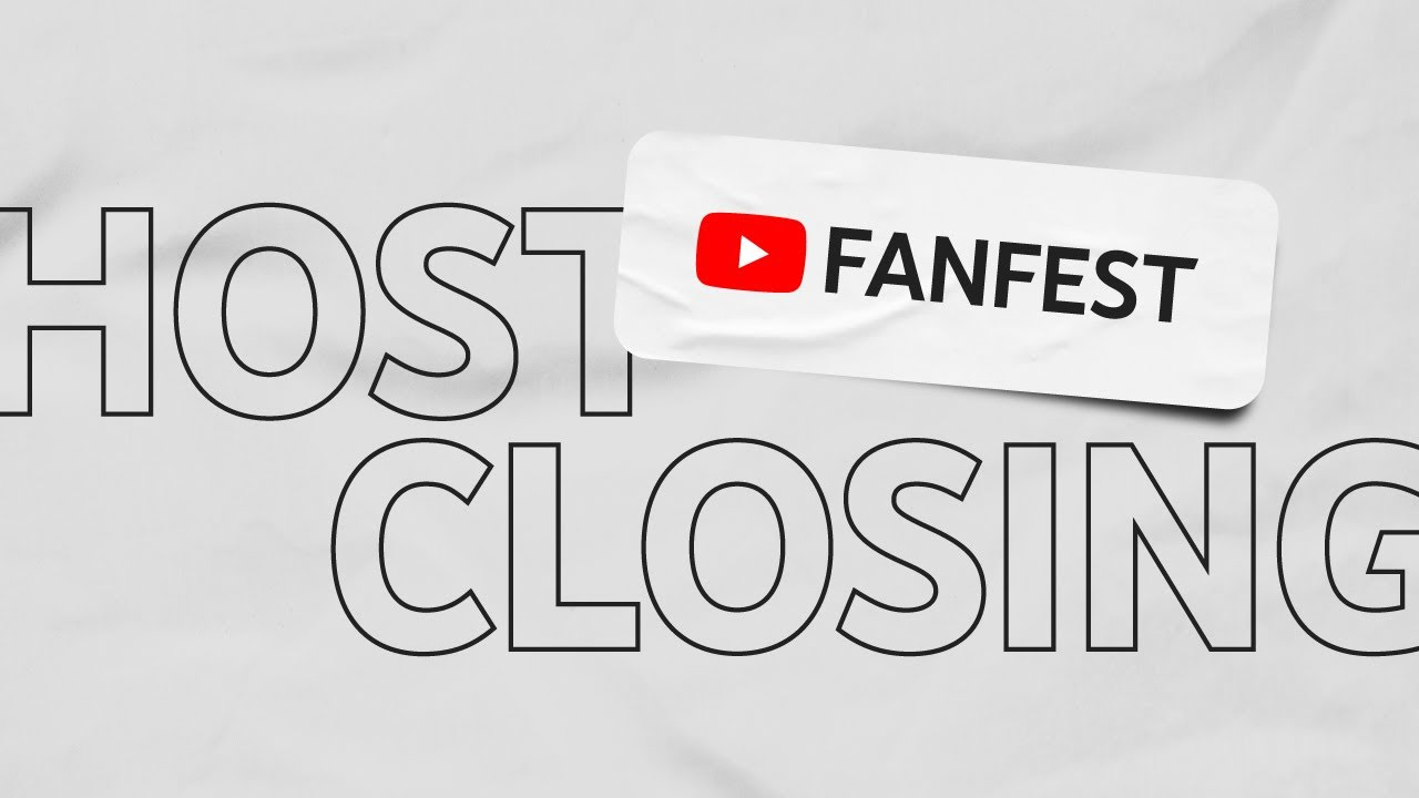YouTube FanFest 2020 Hosts Closing