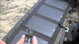 Portable Solar Power System and Communications GET HOME!
