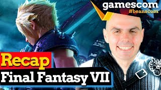 Final Fantasy VII: Frische Eindrücke nach Gameplay Hands On des Remakes | gamescom 2019