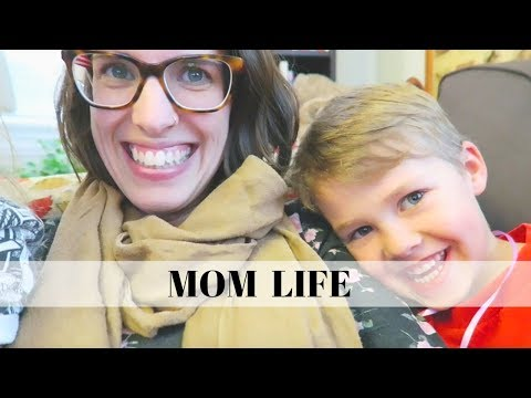 VLOG – Day in The Life of a Stay at Home Mom | School Day