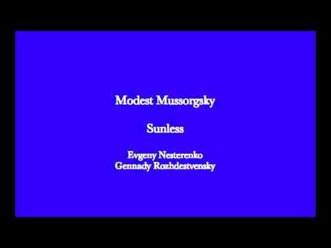 Mussorgsky  Sunless