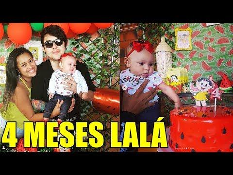 PRESOS NO ELEVADOR!!!  MESVERSÁRIO 4 meses Tema Magali Melancia - VDC #454