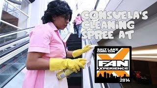 Consuela's Cleaning Spree at Salt Lake Comic Con FanX