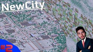 DISTRITO INDUSTRIAL E EXPANSÃO DA FRONTEIRA AGRÍCOLA!!! - NewCity #2 - (Gameplay/PC/PT-BR)