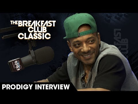 Breakfast Club Classic: Prodigy Discusses 'The Infamous' and His Struggle With Sickle Cell Disease