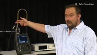 Cable and Antenna Analyzer Training Video | FieldFox Handheld Analyzers | Keysight