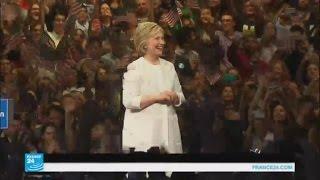 كلينتون تصف فوزها بترشيح الحزب الديمقراطي للانتخابات الرئاسية بـ