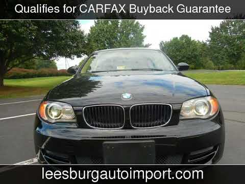 2009 BMW 128i Used Cars  LeesburgVirginia  20170916  YouTube