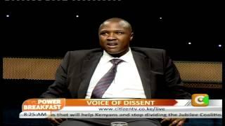 Power Breakfast interview: Voice Of Dissent Part 2