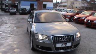 audi a8 l 6 0 w12 lwb quattro tiptronic full review start up engine and in depth tour