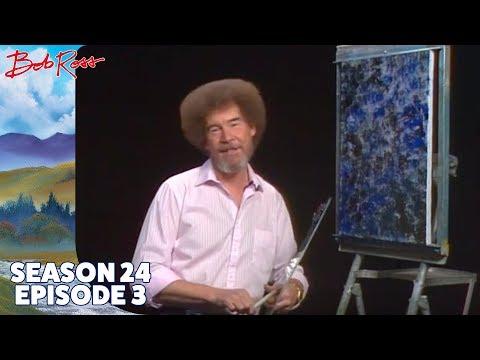 Bob Ross - Teton Winter (Season 24 Episode 3)