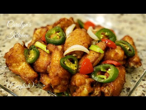 Salt And Pepper Crispy Chicken Wings | Specialized Recipe (English)