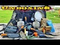 Massive Unboxing  Camping     Hunting     Survival Gear   Largest One Yet