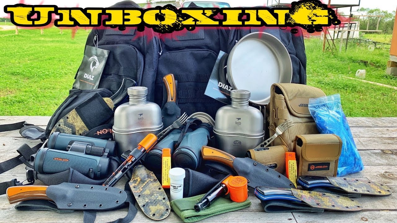 massive-unboxing-camping-hunting-survival-gear-largest-one-yet