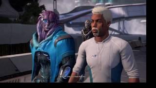 Прохождение игры Mass Effect Andromeda (на ур. сл. Безумие)- часть 41 Секс с Пиби
