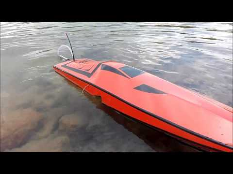 HANDMADE VERY FAST RC BOAT MONO HOW TO BUILT HOMEMADE