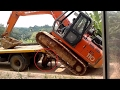 Heavy Equipment Accidents caught on tape . Trucks Disasters - Trucks fails , skills #27