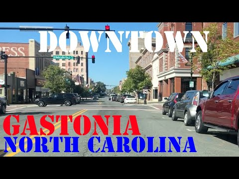 Gastonia - North Carolina - Downtown Drive
