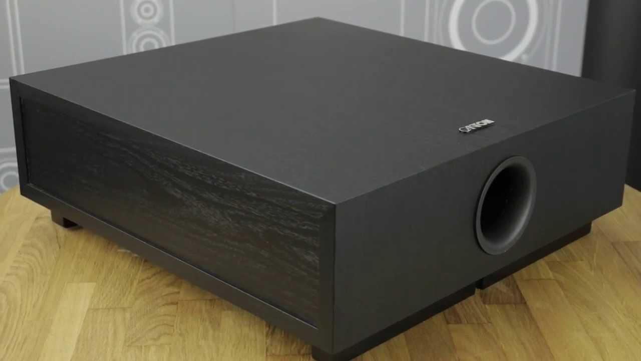 canton asf 75 sc subwoofer youtube. Black Bedroom Furniture Sets. Home Design Ideas