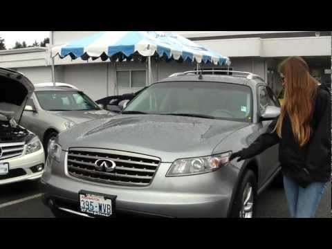 Virtual Tour of a 2008 FX35 Sport at Chaplins Auto Group in Bellevue