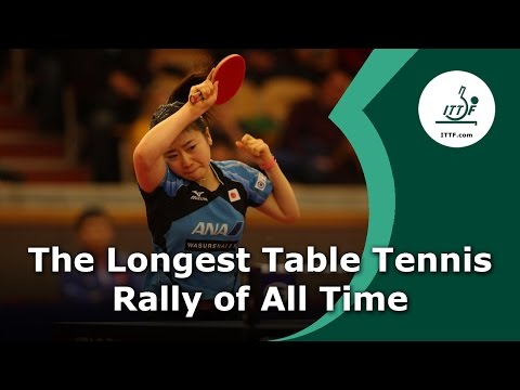 The Longest Table Tennis Rally of All Time