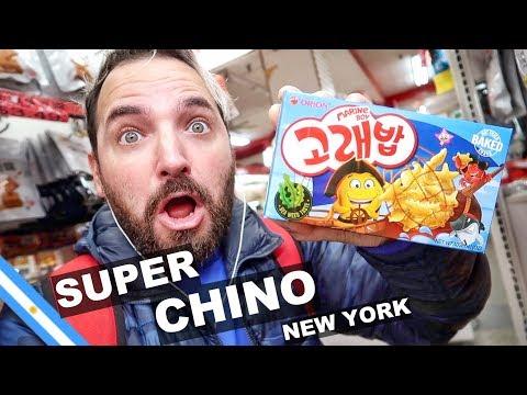 QUÉ HAY EN UN SUPERMERCADO CHINO EN NEW YORK