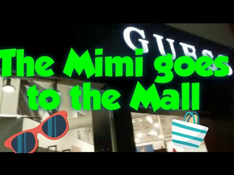 The Filipina foreigner goes to the mall in Guam