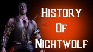 History Of Nightwolf Mortal Kombat X