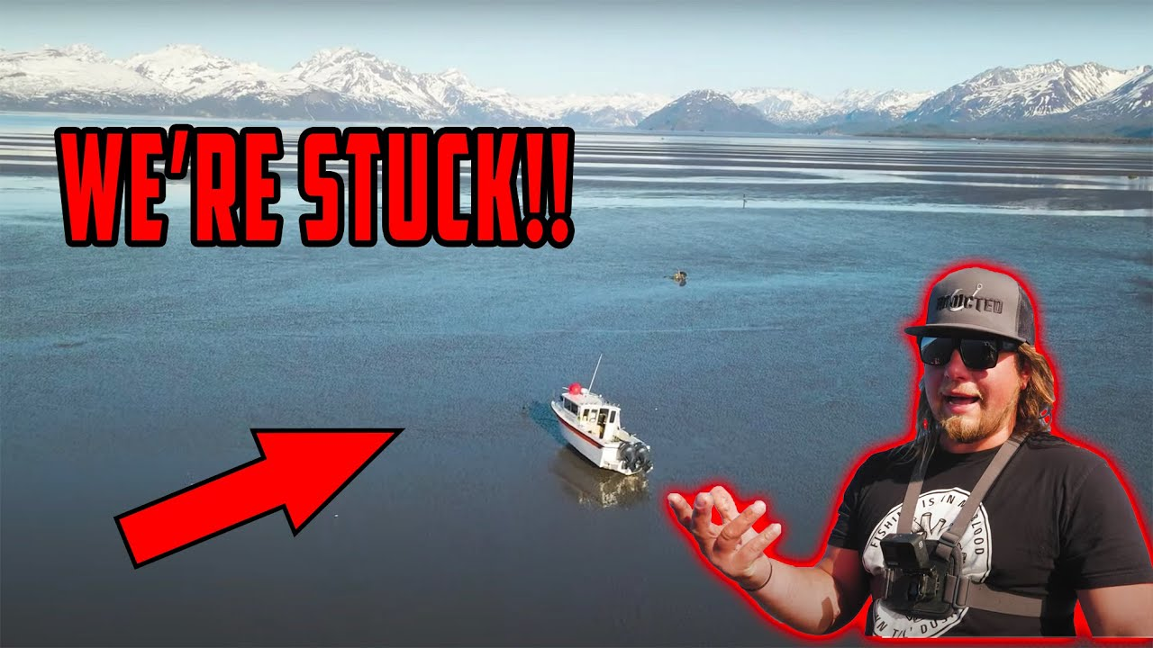 Our Boat Is STUCK On The Beach In Remote ALASKA!