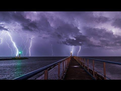 Сильный шторм и Торнадо. Германия. Кадр Дня. Frame of the Day.