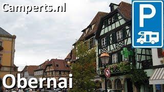 Camping Municipal Le Vallon de l'Ehn, Obernai, Alsace, Frankrijk (English subtitled)