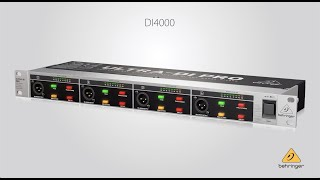 This is the Behringer DI4000