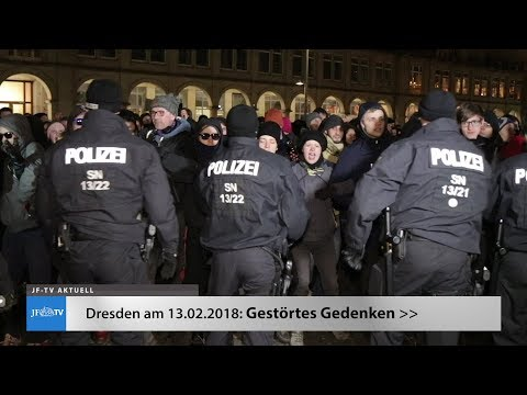 Dresden: Gestörtes Gedenken