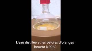 Distillation à vapeur d'eau
