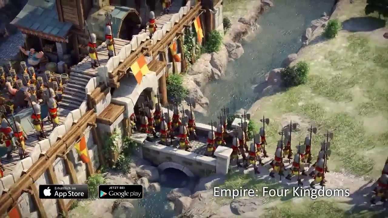 Empire Four Kingdoms Trailer 1 German Goodgame Studios