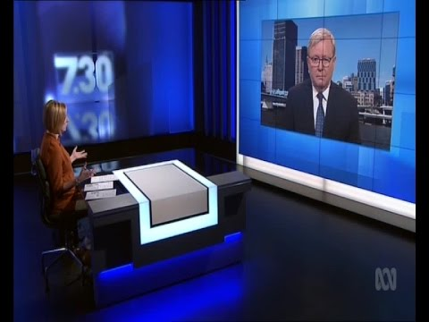 Kevin Rudd on ABC's 7.30 (21/12/16)