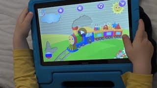 Развивающие ИГРЫ на планшете ДЛЯ маленьких детей. АРТЕМ изучает Животных