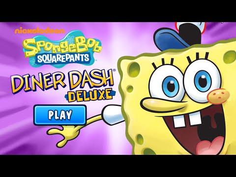 SpongeBob SquarePants: Diner Dash - Gameplay